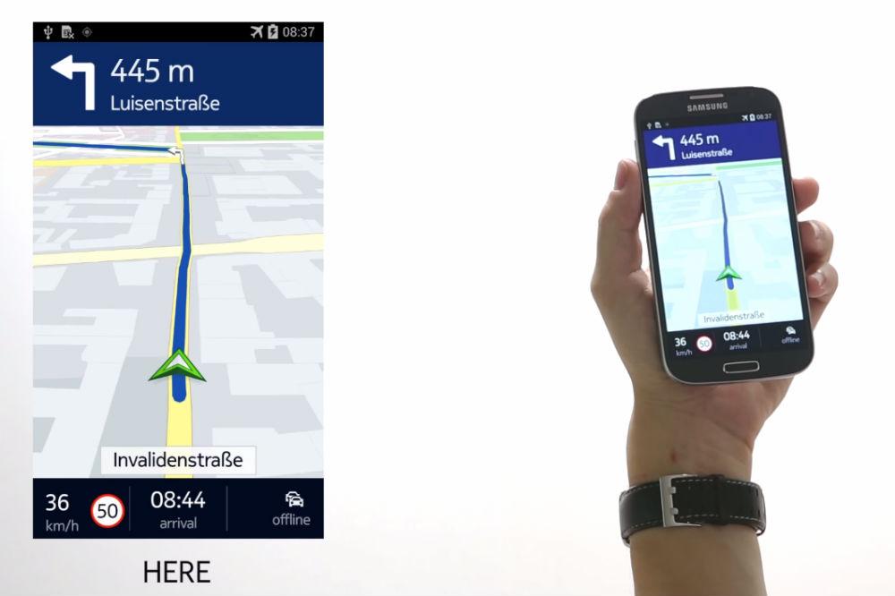 Google Maps are un rival demn pe Android: Nokia Here Maps debutează pe telefoanele Samsung