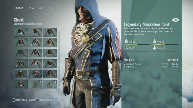 Assassin's Creed  Unity editare personaj