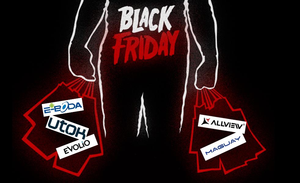 Black Friday la Evolio, Utok, Maguay, Allview și E-Boda. Ce pregătesc companiile românești