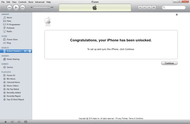 Congratulation-your-iphone-has-been-unlocked deblocare iphone 6 succes
