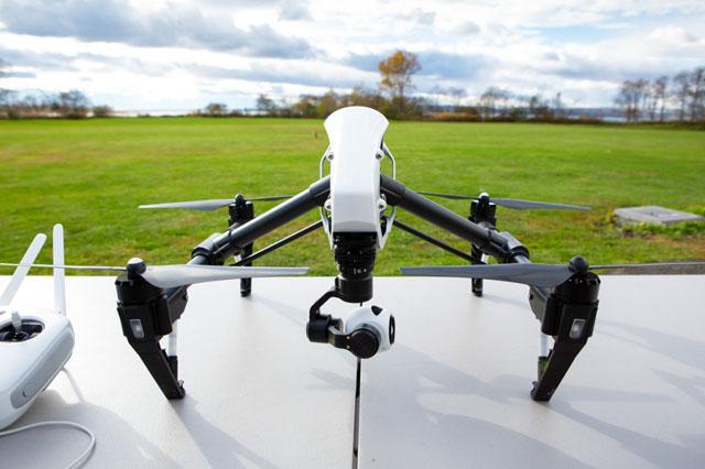 DJI Inspire 1 este o nouă dronă cu capabilități de filmare 4K