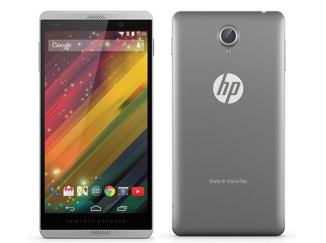 HP are un nou phablet: Slate 6 VoiceTab II nu e cu mult diferit de predecesor