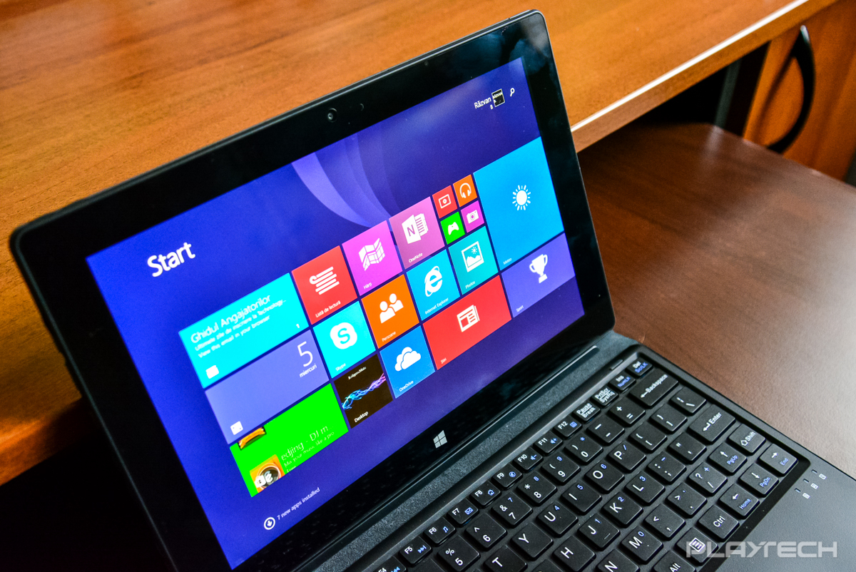 Kruger&Matz Edge 1081 – Tabletă cu Windows 8 care imită cu succes un mini-laptop [REVIEW]