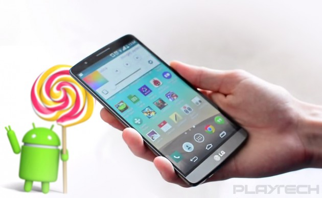 LG G3 Android 5.0 loloipop