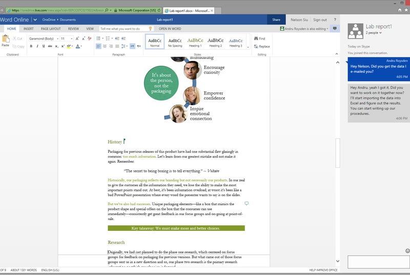 Microsoft te lasă de acum să vorbești direct în Office Online