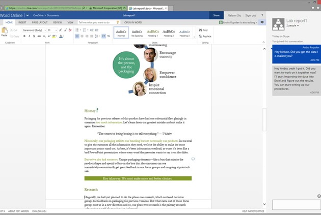 Microsoft Office Online Chat