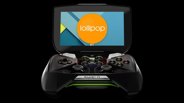 Nvidia Shield-Android 5.0 Lollipop