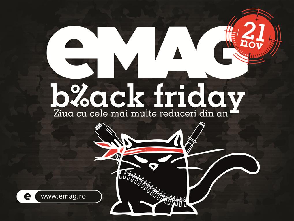 eMAG te vrea client de Black Friday. Care sunt atuurile companiei