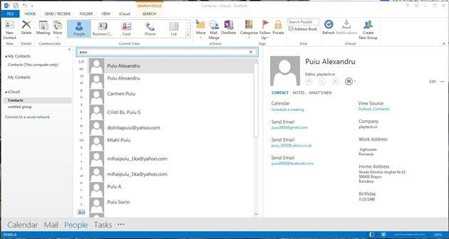 Tutorial de Sincronizare iPhone cu Outlook 4