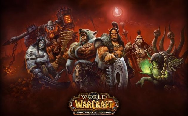 blizzard world of warcraft warlords-of-draenor