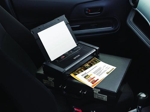 Epson WorkForce WF-100 este o imprimantă wireless pentru deplasări