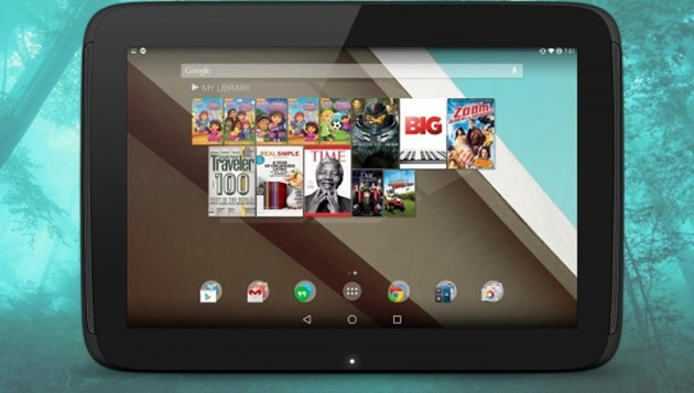 google nexus 10 Android-5.0-L1-600x340