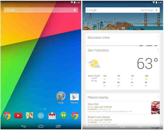 google-now-launcher aplicatii terte