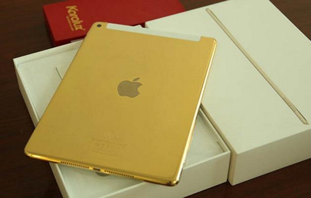 iPad Air 2 placat cu Aur