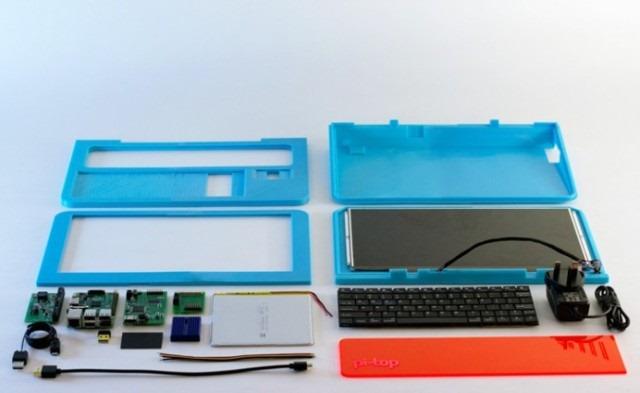 Pi-top este un laptop imprimat 3D și care folosește Raspberry Pi