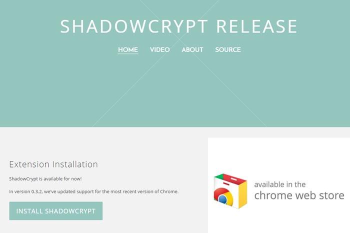 Shadowcrypt e extensia de Chrome care criptează toate conversaţiile digitale