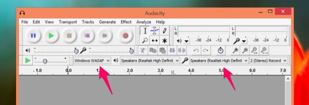 Audacity Inregistrare audio windows pc