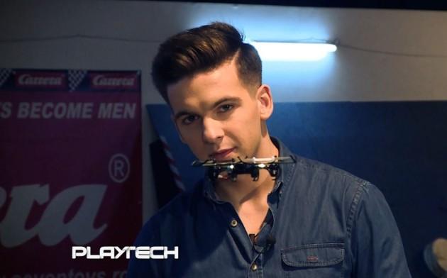 Emisiunea Playtech Lucian Popescu