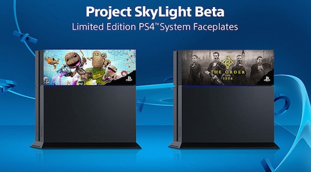 Project Skylight ps4 faceplates