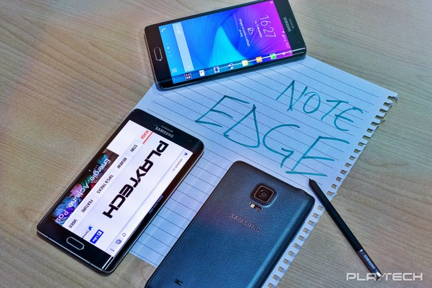 Samsung Galaxy Note Edge review Playtech