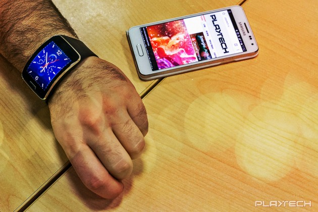Samsung Gear S review Playtech main