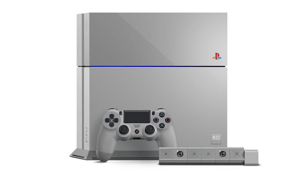 Sony sărbătorește 20 de ani de PlayStation cu un PS4 ediţie limitată [VIDEO]