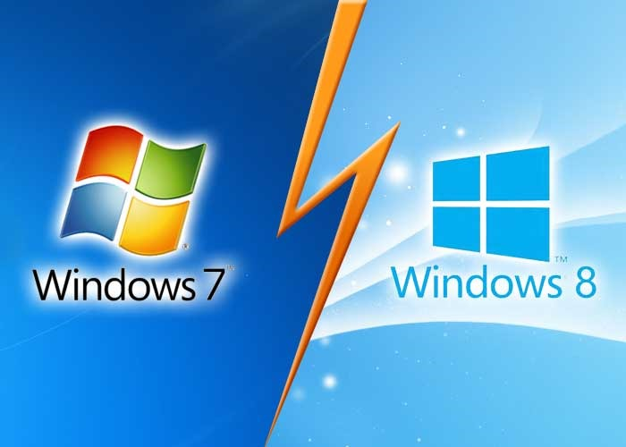 Windows 8 versus Windows 7: cel mai nou nu este și cel mai dorit