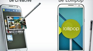 Samsung are cea mai bună veste de Crăciun: Galaxy Note 2 primește Lollipop