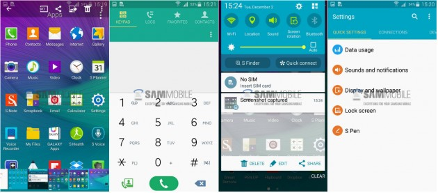 android 5.0 lollipop pe samsung galaxy note 4