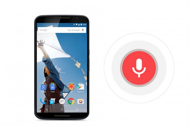google nexus 6 si google now