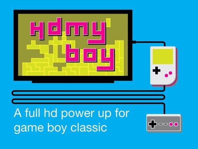 HDmyboy te ajută să-ţi joci jocurile de Game Boy la rezoluţie Full HD