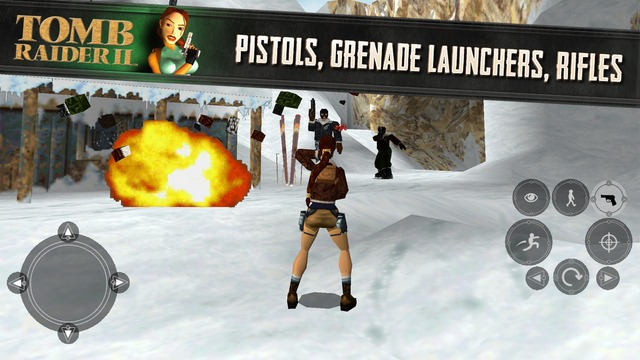 Tomb Raider 2, un joc de legendă, e disponibil pe iOS