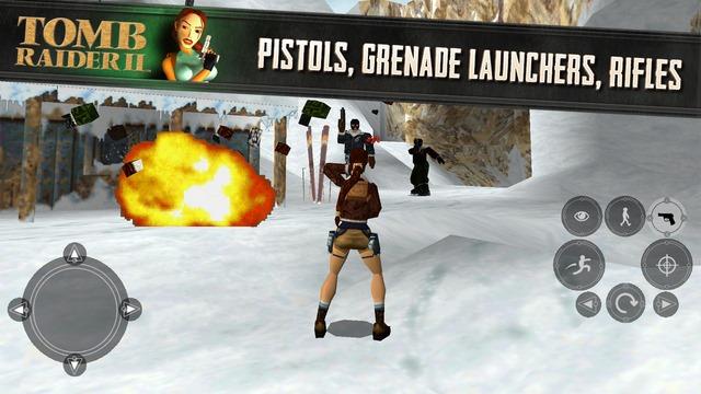 Tomb Raider 2, un joc de legendă, e disponibil pe iOS