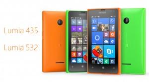 Cele mai ieftine telefoane Microsoft: Lumia 435 și Lumia 532