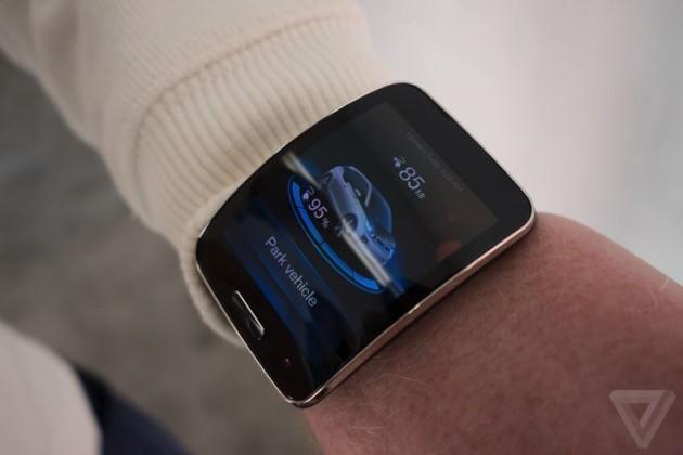 bmw smartwatch gear s