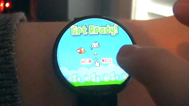 flappy bird_android wear_feature