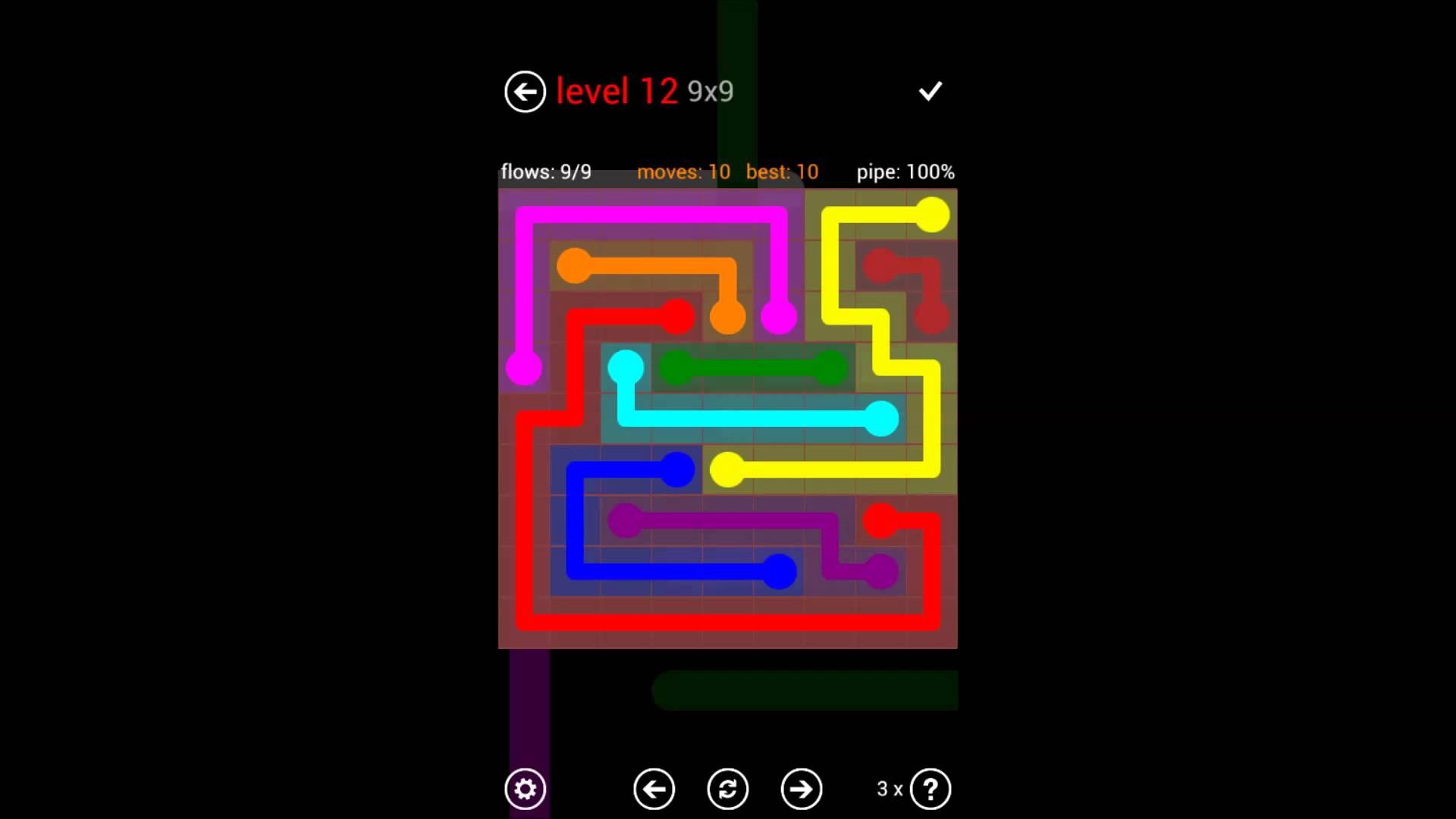 flow free cele mai simple jocuri pentru mobil