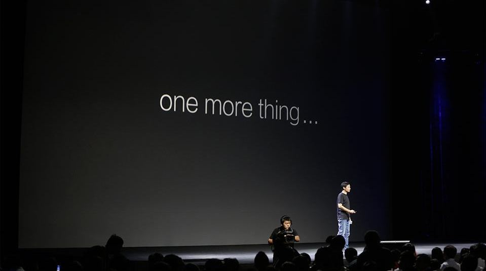 xiaomi one more thing apple