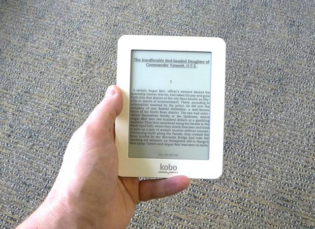 Mini-eBook Reader Kobo cele mai bune ebook readere