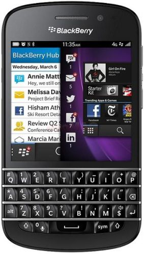 Telefon+Mobil+Blackberry+Q10+cele mai bune telefoane cu tastatura qwerty
