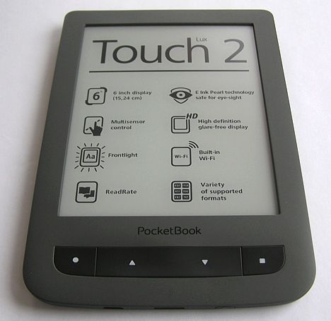 eBook Reader Pocketbook Touch Lux 2 celce mai bune ebook readere