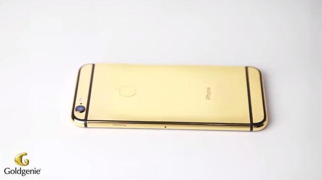 iPhone 6 pentru snobi: Telefonul din aur este în oferta Goldgenie