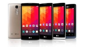 LG a anunţat patru smartphone-uri noi înainte de MWC 2015