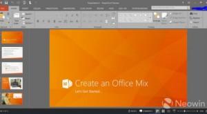 Noi detalii despre Office 2016 desprinse din capturi de ecran