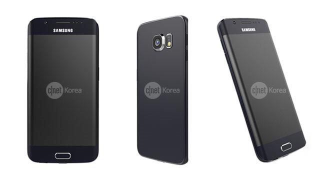 """Galaxy S6 şi Galaxy S6 Edge ajung online prin imagini """"aproape"""" oficiale"""