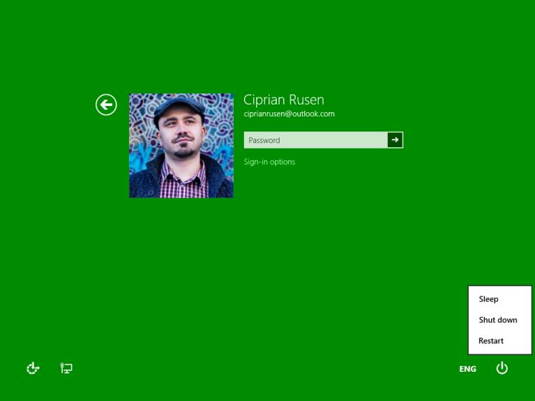 Porneste in Safe Mode in Windows 8.1
