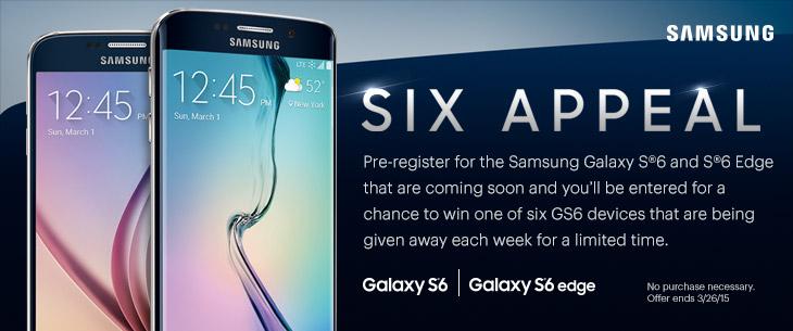 six appeal samsung galaxy s6 si edge