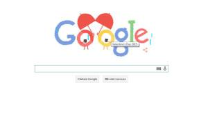 Valentine's Day, sărbătorită pe Google: Ce doodle are pentru Ziua Îndrăgostiților