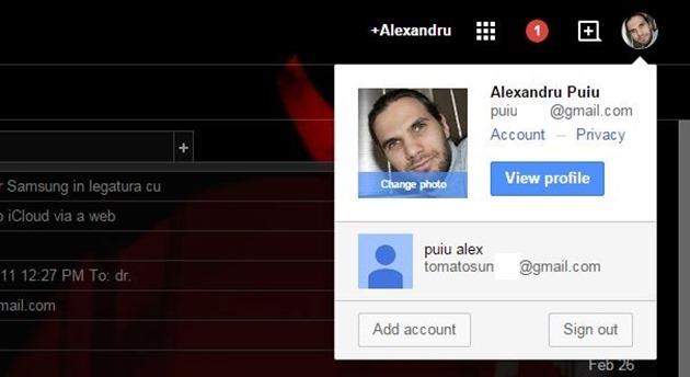 Conturi Ce poţi face cu Gmail multiple