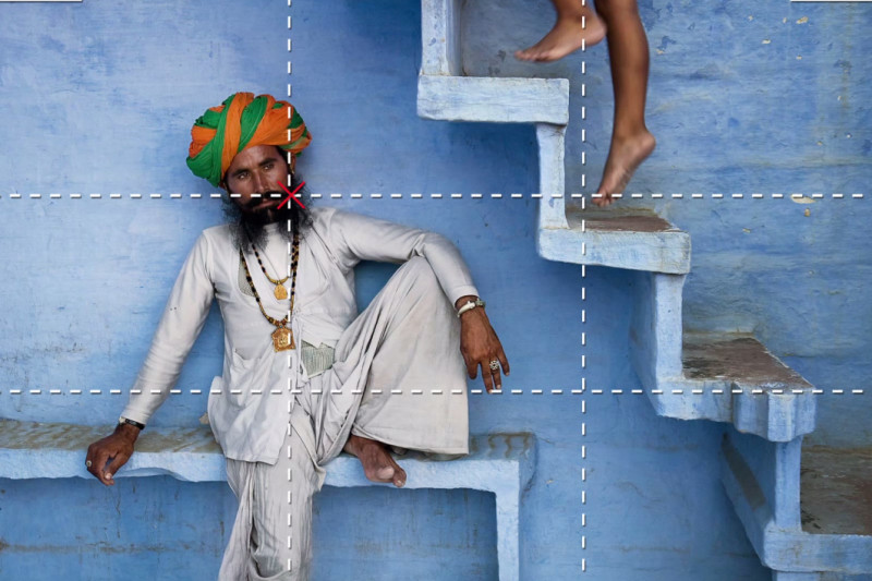 Cum să faci poze ca un profesionist - Steve McCurry și regula treimilor